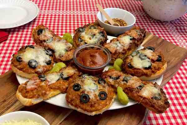 Pizza-wiches