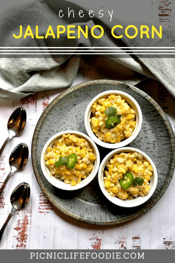 Cheesy Jalapeno Corn Pin