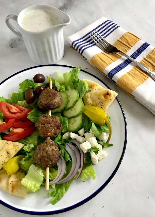 Gyro Meatball Salad
