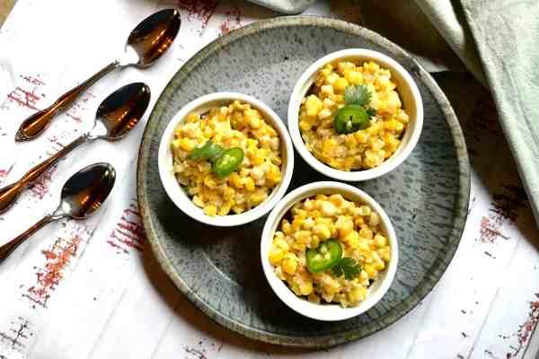 Cheesy Jalapeno Corn