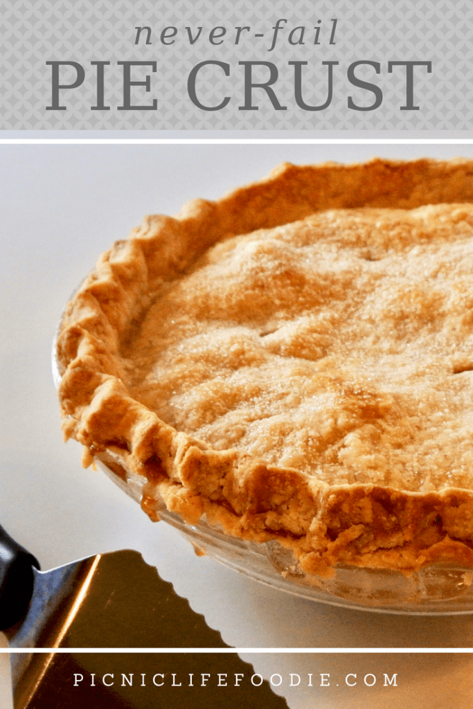 Never Fail Homemade Pie Crust