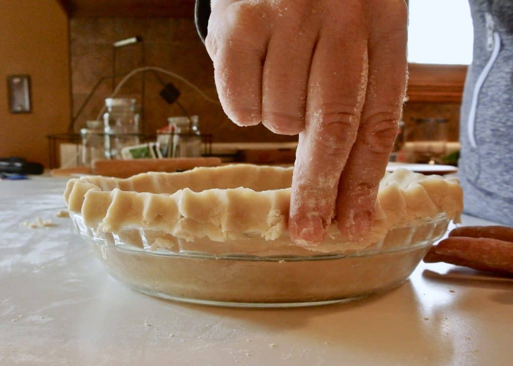 Pinching the Pie Crust