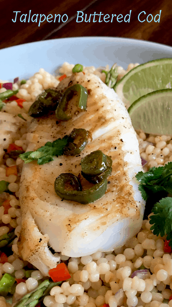 Jalapeno Buttered Cod Pin