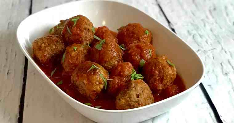 A Re-Introduction to Meatballs