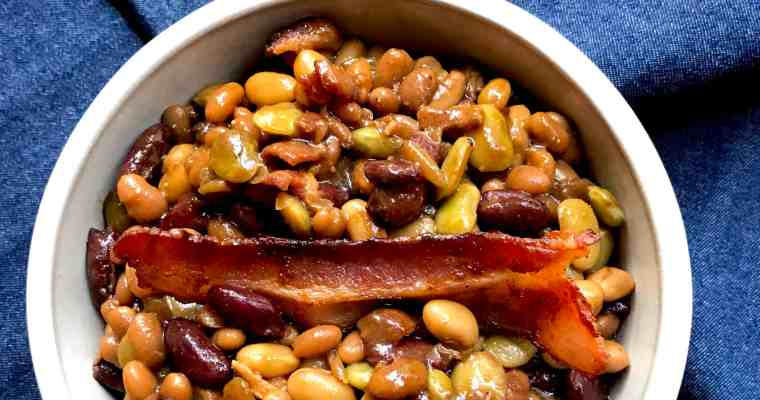 Baked 4-Bean Casserole