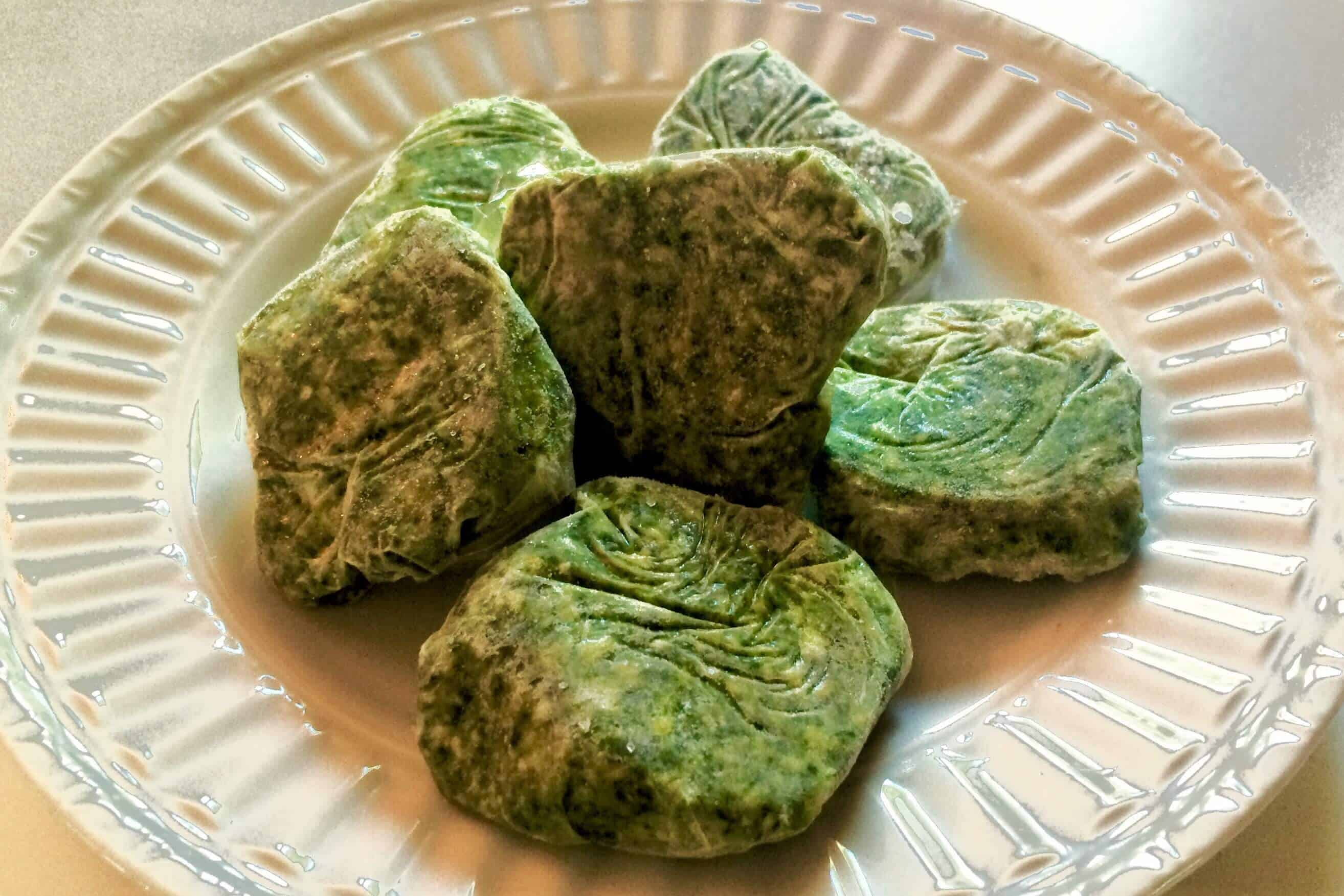 Frozen Pesto Discs