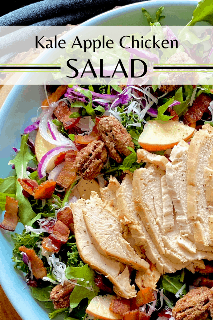 Kale Apple Chicken Salad Pin