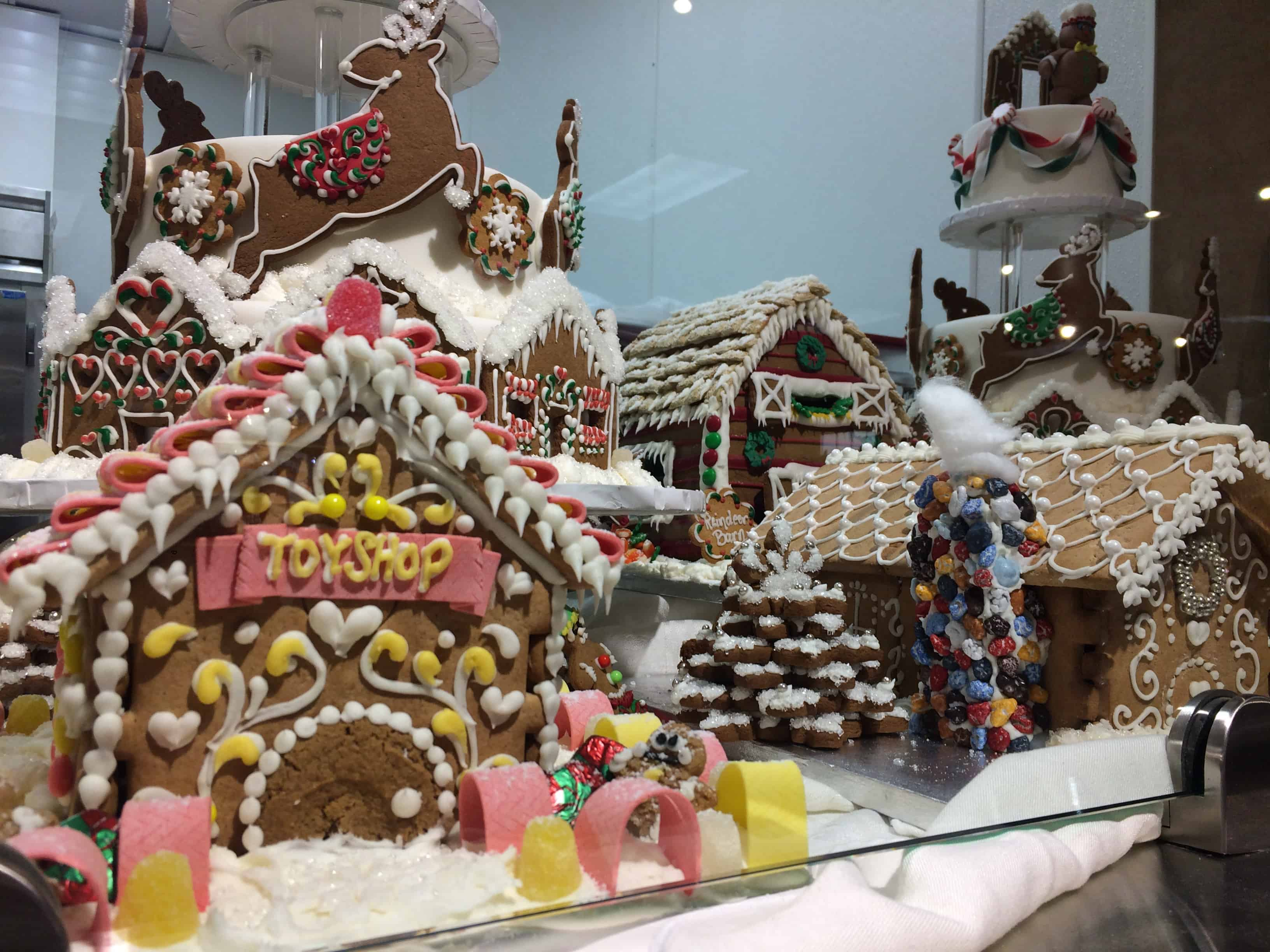Gingerbread Village in Minneapolis