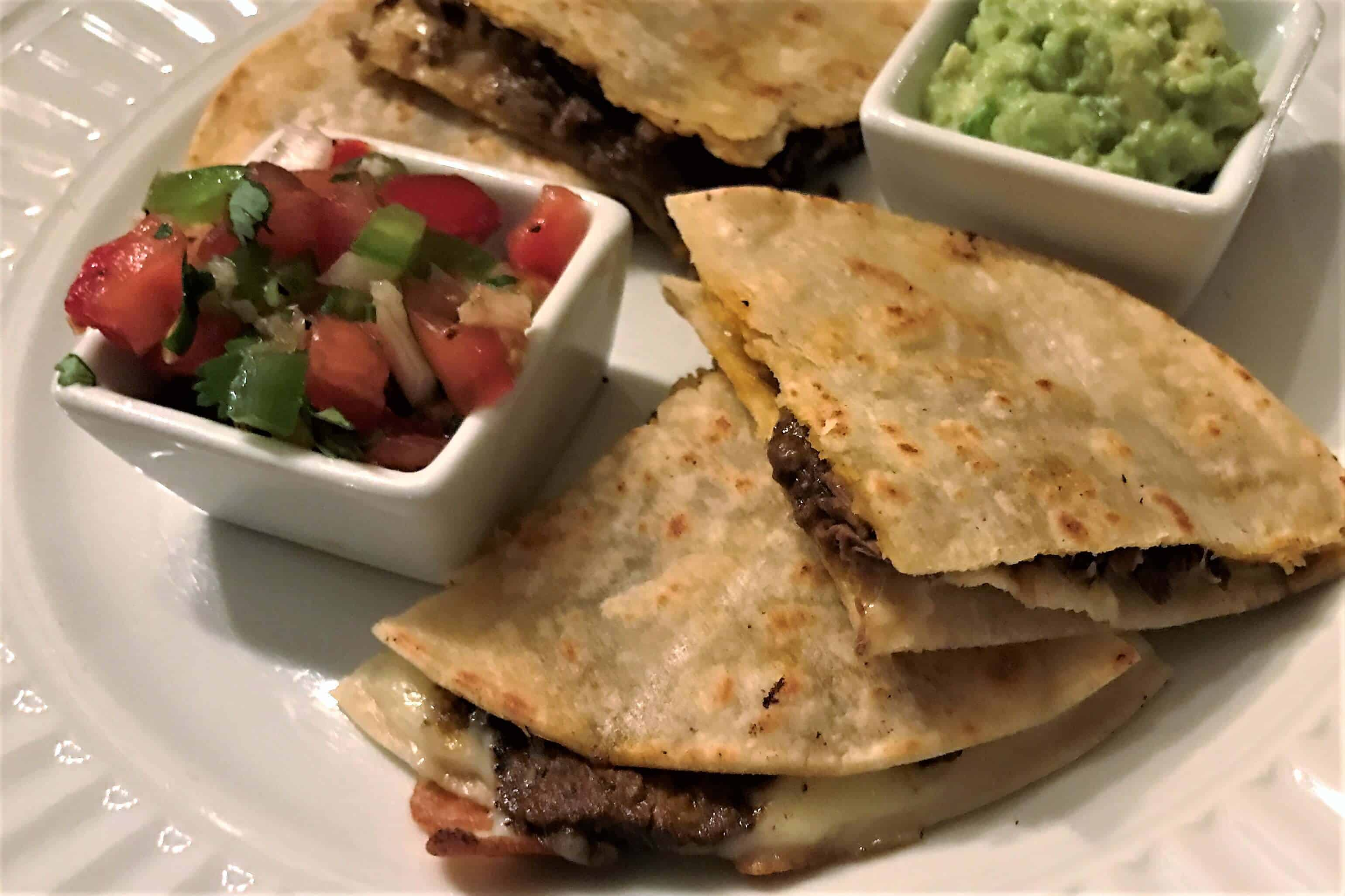 French Dip Quesadillas