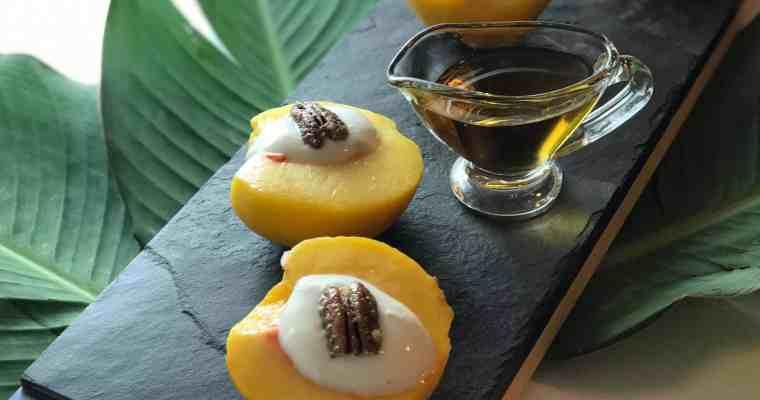 Peaches and Cream Cups