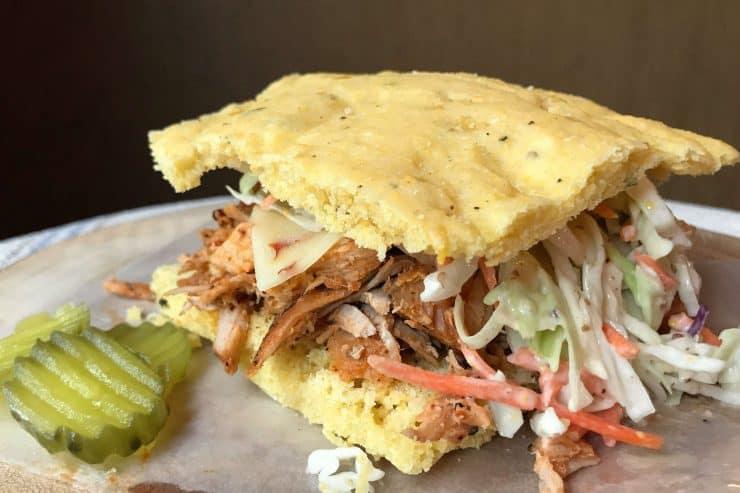 Cajun Pulled Pork Sandwiches