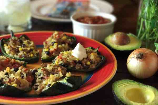 Stuffed Peppers Mexican Style