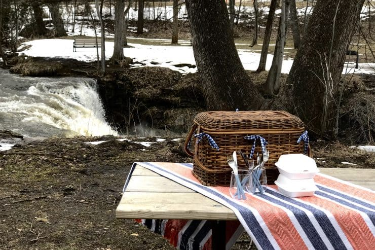 Picnic at Minneopa State Park