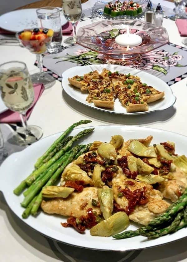 Mediterranean Chicken with Asparagus