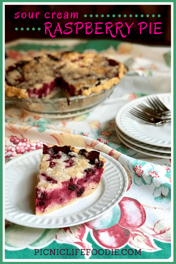 Sour Cream Raspberry Pie Pin