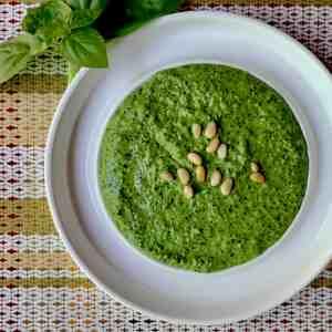Basil Spinach Pesto