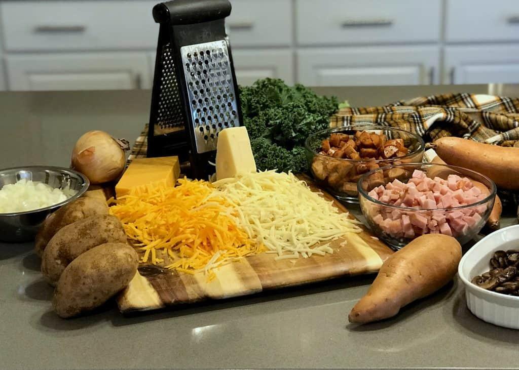 Au Gratin Potatoes Ingredients