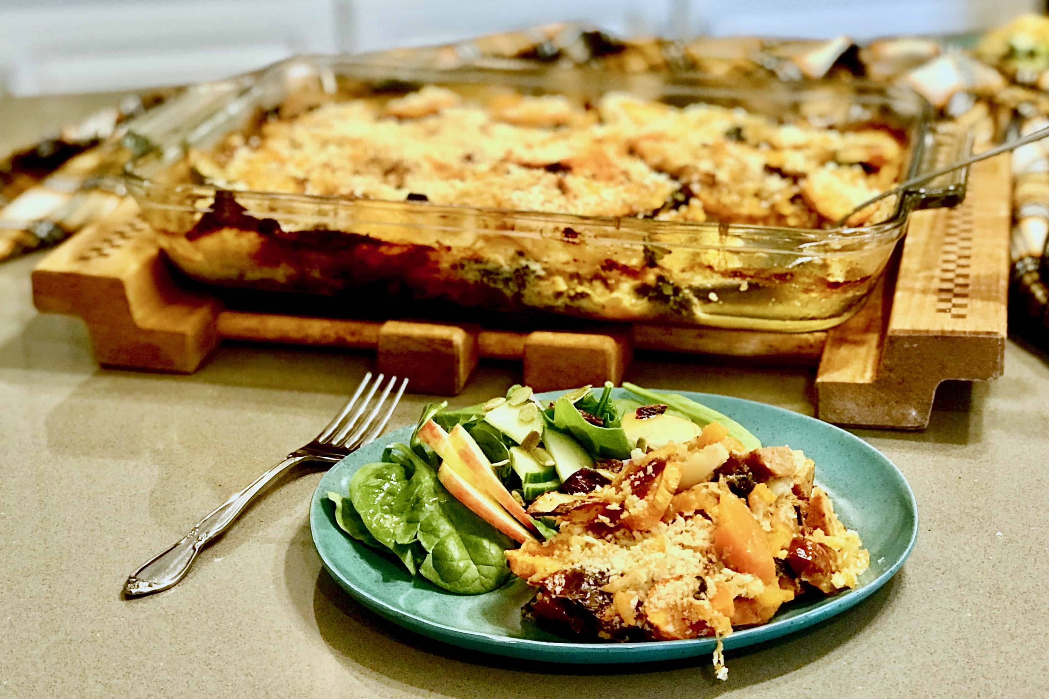 Comfort Food: Autumnal Au Gratin Potatoes