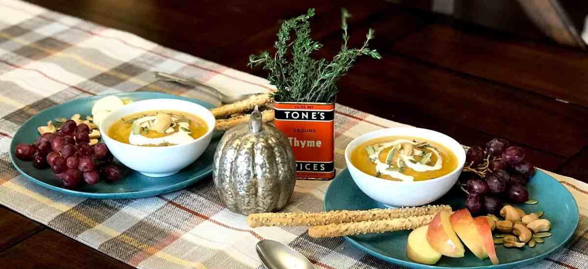Squash Soup – What? No Marshmallows?