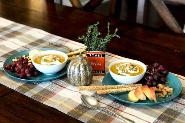Squash Soup – What? No Marshmallows?
