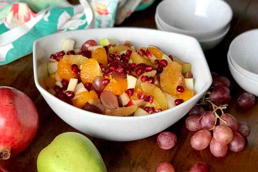 Everyday's a Holiday Pomegranate Fruit Salad