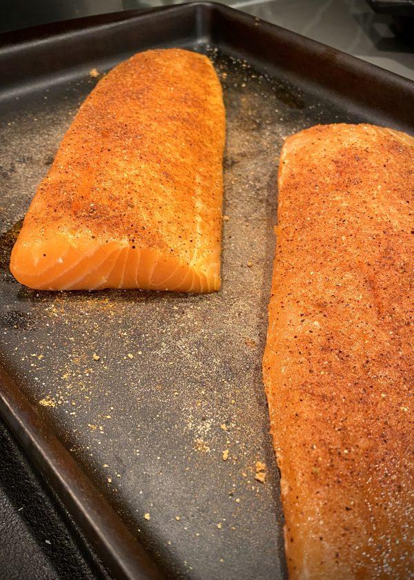 Salmon Prep Dry Rub