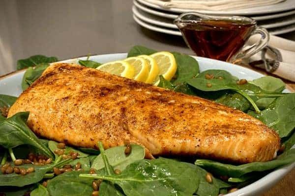 Smoky Maple Salmon Feature