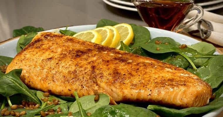 Smoky Maple Salmon