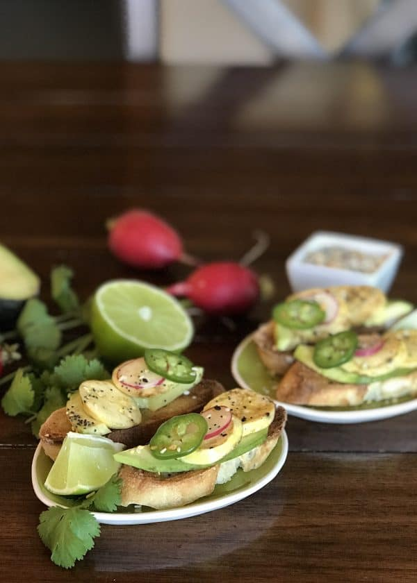 Instant Pot Egg Bite Avocado Toast