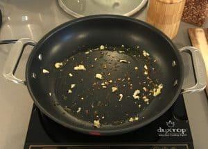 Sautéed Spinach Step 1