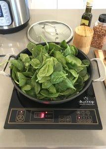 Sautéed Spinach Step 2