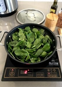 Sautéed Spinach Step 4