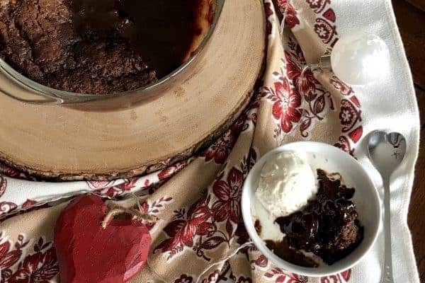 Hot Fudge Pudding Cake Feature