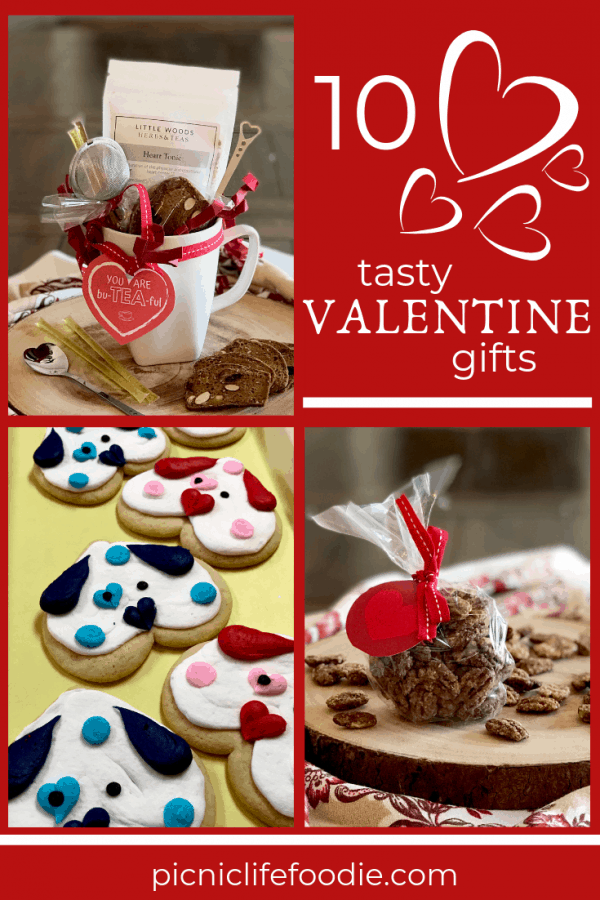 Valentine Food Gifts Pin