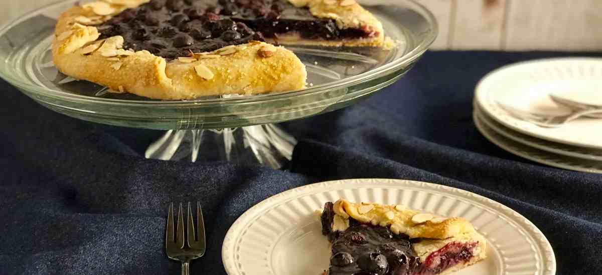 Blueberry Lemon Ricotta Galette