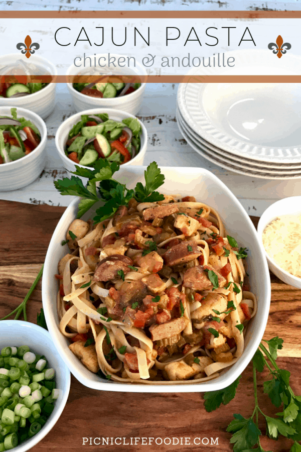 Cajun Chicken and Andouille Pasta Pin