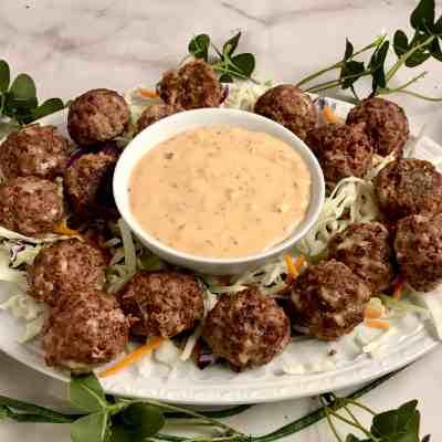 Reuben Meatballs Feature