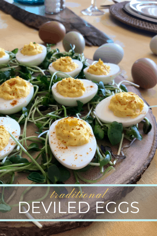 Traditional Deviled Eggs Pin