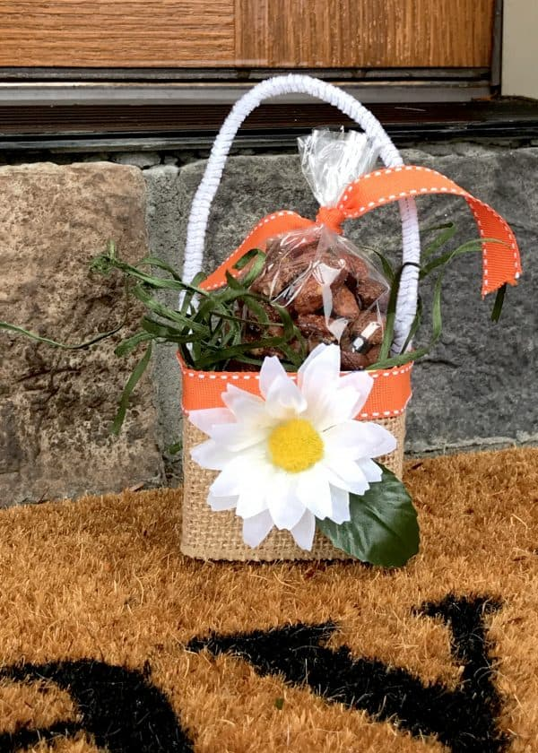 May Day Basket with Almonds
