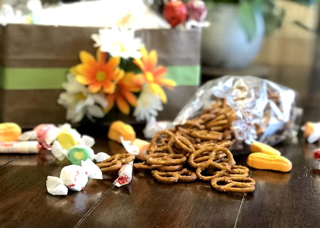 Seasoned Pretzels for May Baskets