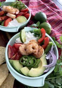 Chunky Guacamole and Shrimp Salad 3
