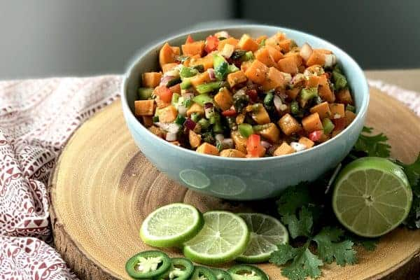 Spicy and Sweet Potato Salad