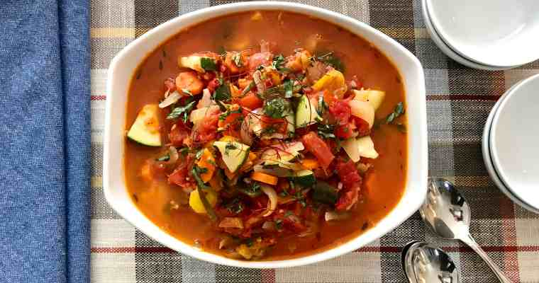 Dorothy's Harvest Vegetable Stew