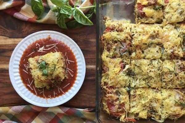 Spaghetti Squash Lasagne
