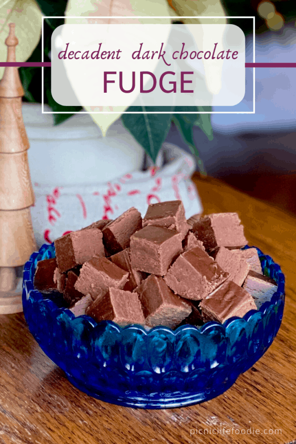 Decadent Dark Chocolate Fudge Pin