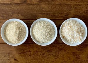 Textural Differences in Bread Crumbs
