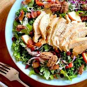 Kale Apple Chicken Salad