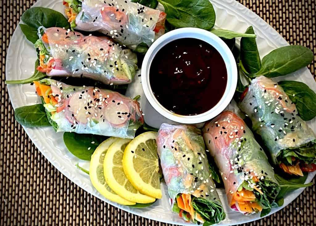 Spring Vegetable Rolls