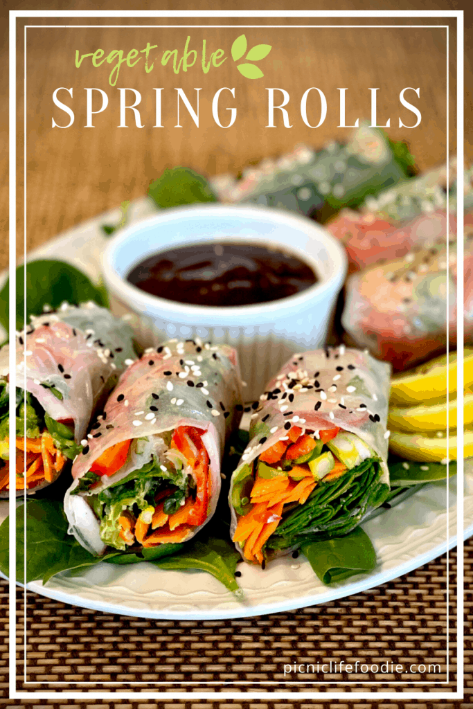 Spring Vegetable Rolls Pin