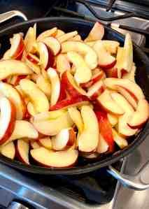Fried Apples Step 2